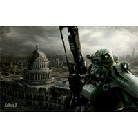 Fallout 3 Poster On Silk <96cm x 60cm, 38inch x 24inch> - 724991