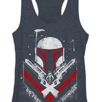 STAR WARS ONLY PROMISES TANK TOP JUNIORS T-SHIRT