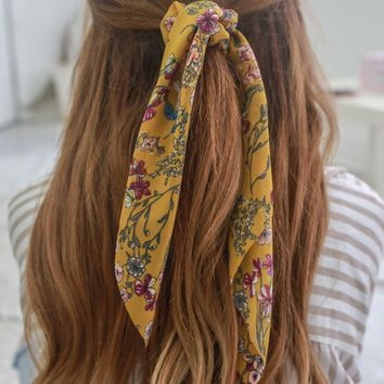 In The Sunshine Scrunchie Scarf