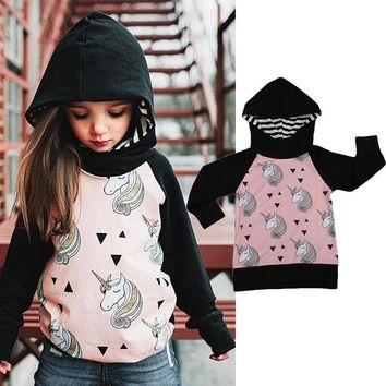 Toddler Kids Girls Long Sleeve Hooded Animals Jacket Clothing Little Girl Coat Hoodie Outerwear Top Clothes