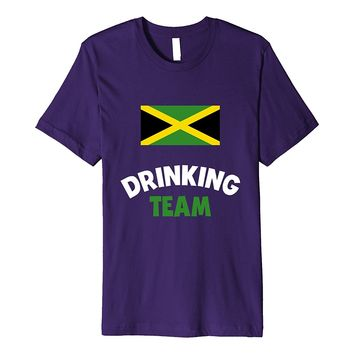Jamaica Drinking Team Premium Shirt Country Alcohol Beer Tee