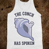 The Conch Has Spoken