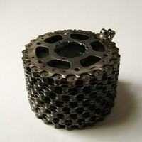 Recycled Bicycle Chain Box