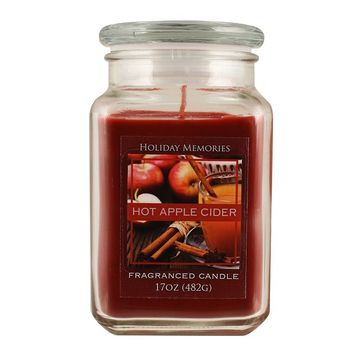 Holiday Memories 17-oz. Hot Apple Cider Jar Candle