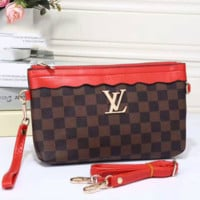 LV Women Shopping Bag Leather Tote Handbag Satchel Shoulder Bag