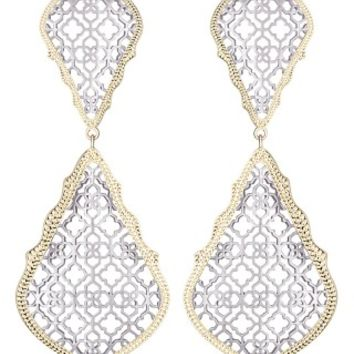 Adela Statement Earrings in Silver - Kendra Scott Jewelry