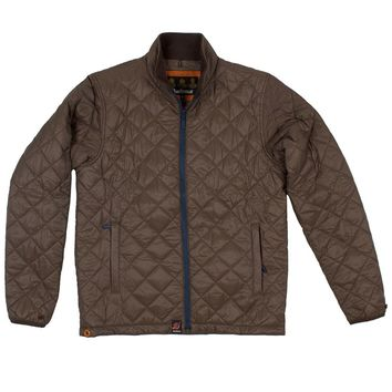 Kellen Quilted Jacket in Olive by Barbour