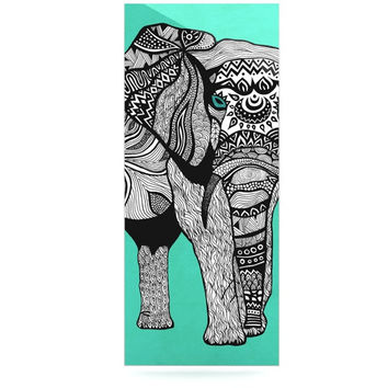 "Pom Graphic Design ""Elephant of Namibia Color"" Luxe Rectangle Panel"