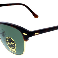Ray Ban Mock Tortoise Clubmaster Sunglasses
