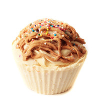 Vanilla & Toffee Crunch Shea Butter cupcake Soap