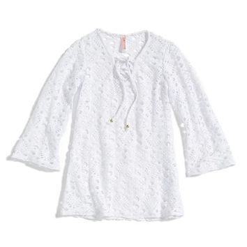 Girl's PilyQ Crochet Tunic