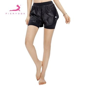 Summer Yoga Shorts Quick dry Breathable Ladie Girl Short Pants for Running Athletic Sport Fitness Clothes Jogging