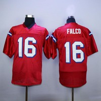 Keanu Reeves Shane Falco #16 Football Jersey Stitched Men The Replacements Movie Jerseys Red S-3XL Free Shipping Viva Villa
