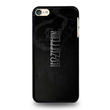 LED ZEPPELIN LYRIC iPod Touch 4 5 6 Case Cover