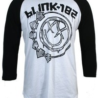 Blink 182 Stamp Baseball T-Shirt - Buy Online at Grindstore.com