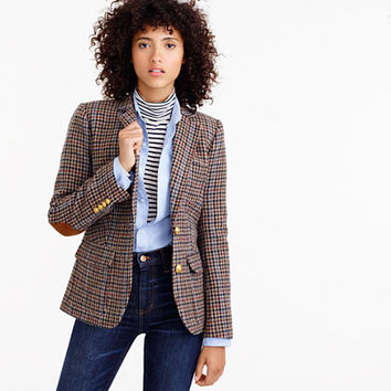 Rhodes blazer in houndstooth wool