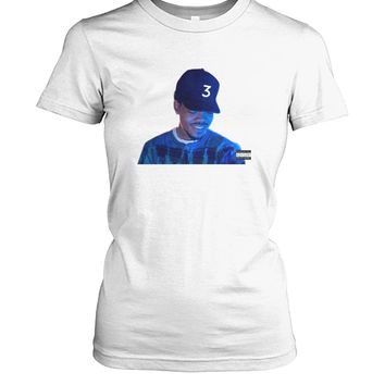 Chance the Rapper Coloring Book T-Shirt Women's Crew Tee