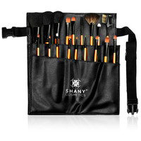 Shany Cosmetics 18-piece Pro Makeup Brush and Apron Set