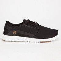 Etnies Scout Mens Shoes Black/White  In Sizes