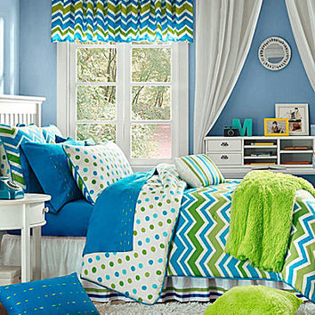 Studio D Zoe Blue/Green Bedding Collection | Dillards.com
