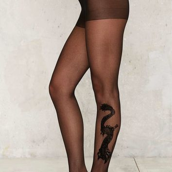 Year of the Dragon Tights