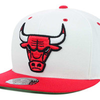 Chicago Bulls NBA Team Patch Fitted Cap