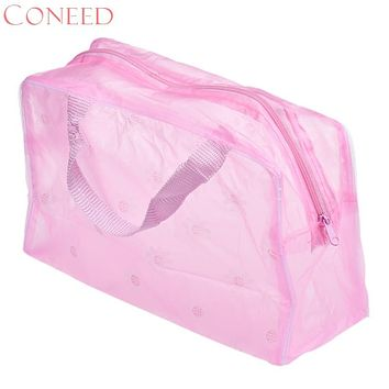 CONEED Charming Nice New Portable Makeup Cosmetic Toiletry Travel Wash Toothbrush Pouch Organizer Bag drop ship Jn12