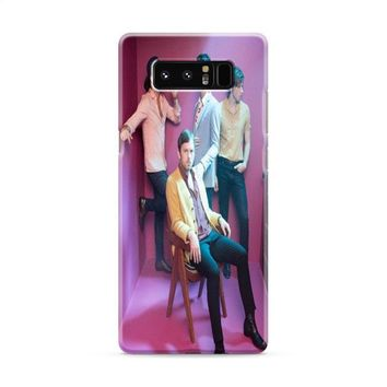 Kings of Leon Band Samsung Galaxy Note 8 Case