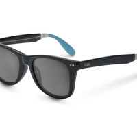 TOMS Windward Black Polarized Black OS