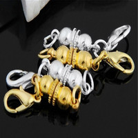 4Pcs Strong Ball Magnetic Clasps For Necklace Bracelet Chain Buckle Hook Jewelry Findings SM6
