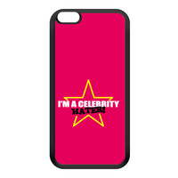 Celebrity Hater Black Silicon Rubber Case for iPhone 6 Plus by Chargrilled