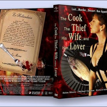 The Cook The Thief His Wife and Her Lover DVD Helen Mirren