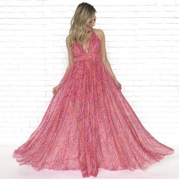 Horizon Sunset Maxi Dress