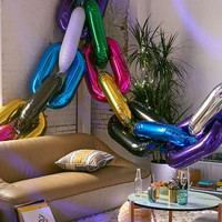 Chain Link Party Balloon - Urban Outfitters