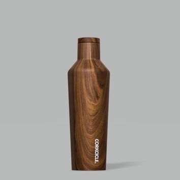 Walnut Wood 16 Oz Canteen By Corkcicle