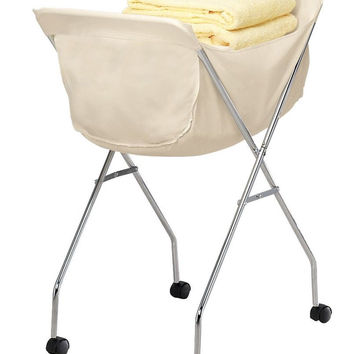 EasyComforts Laundry Cart With Wheels