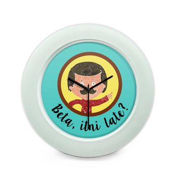 Beta Itni Late? Quirky | Father's Day Table Clock