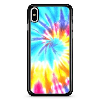 Tie Die Light iPhone X Case