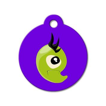 Green Monster - Cute Pet Tag
