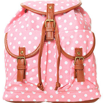 rue21 :   POLKA DOT BACKPACK
