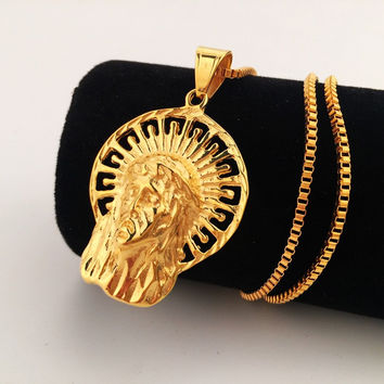 Shiny New Arrival Jewelry Stylish Gift Hip-hop Club Necklace [8439443523]