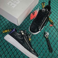 Acronym X Nike Lunar Force 1 Sp Black Blue Zip Up Fashion Shoes - Best Online Sale