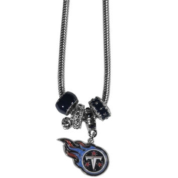 Tennessee Titans Euro Bead Necklace FBNK185
