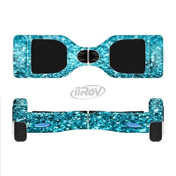 The Turquoise Glimmer Full-Body Skin Set for the Smart Drifting SuperCharged iiRov HoverBoard