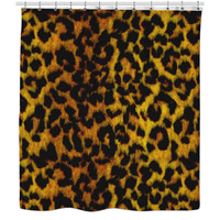 Cheetah Print Shower Curtains.