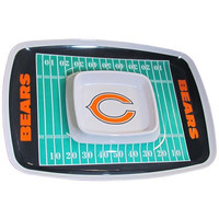 Chicago Bears Chip & Dip Tray