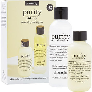 Purity Party Double Duty Cleansing Duo | Ulta Beauty