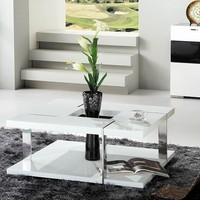 Modrest Glacier Modern Coffee Table