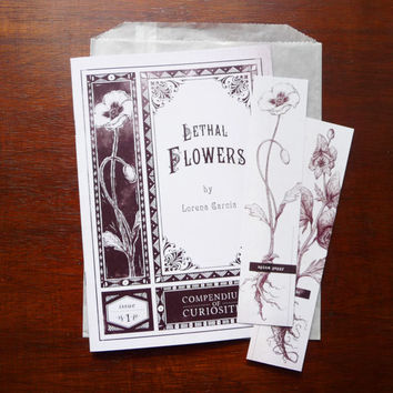 Zine - Lethal Flowers - Compendiums of Curiosities Issue 1