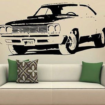 69 Plymouth Road Runner Wall Art Sticker Decal S1718